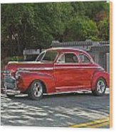 1941 Chevrolet 'super Deluxe' Coupe Wood Print