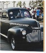 1941 Chevy Special Deluxe Wood Print
