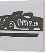 1941 Chrysler Indianapolis 500 Pace Car Wood Print