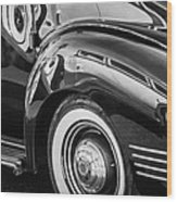 1941 Packard 110 Deluxe -1092bw Wood Print