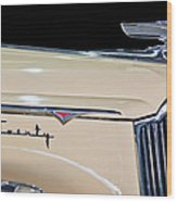 1941 Packard Hood Ornament Wood Print by Jill Reger