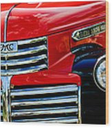 1942 Gmc  Pickup Truck Wood Print