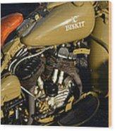 1942 Wla Harley Davidson Wood Print