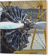 1943 Boeing Super Stearman Wood Print
