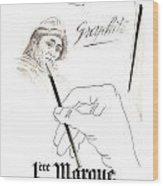 1946 Advertisement 1ere Marque Crayon Graphite Pencil Bagnol And Wood Print