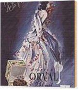 1946 Advertisement Molinard Orval Perfume Wood Print