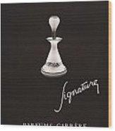 1946 Advertisement Parfums Carrere Signature Perfume Wood Print