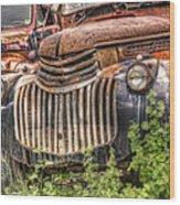 1946 Chevrolet 2 Ton Wood Print by Robert Jensen