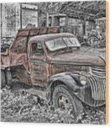 1946 Chevrolet Wood Print by Robert Jensen