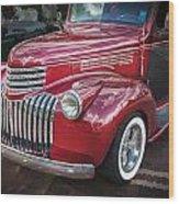 1946 Chevrolet Sedan Panel Delivery Truck  Wood Print