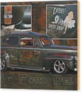 1946 Ford Deluxe Wood Print