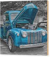 1946 Ford Pickup Wood Print