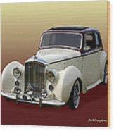 1947 Bentley M K  5   G T X  Wood Print