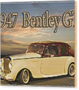 1947 Bentley Wood Print
