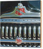 1947 Buick Sedanette Grille Wood Print