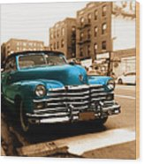 1947 Cadillac Convertible Wood Print