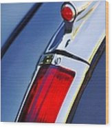 1947 Cadillac Model 62 Coupe Taillight  Wood Print