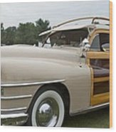 1947 Chrysler Wood Print