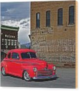 1947 Ford Coupe Wood Print