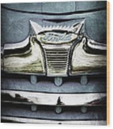 1947 Ford Deluxe Grille Emblem Wood Print