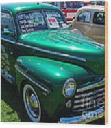 1947 Ford Super Deluxe Wood Print