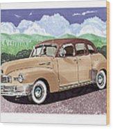 1947 Nash Statesman Wood Print by Jack Pumphrey