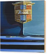 1947 Nash Surburban Hood Ornament Wood Print by Jill Reger