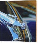 1947 Packard Hood Ornament 4 Wood Print