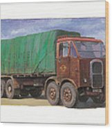1947 Scammell R8 Wood Print