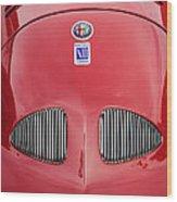 1948 Alfa Romeo Nardi Danese Convertible Wood Print