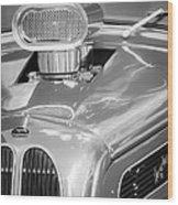 1948 Anglia Engine -522bw Wood Print