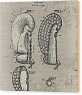 1948 Boxing Glove Patent Wood Print