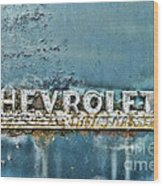 1948 Chevrolet Thrift Master Wood Print