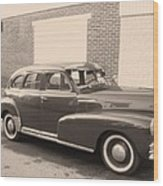 1948 Chevy Wood Print