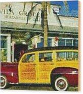 1948 Ford Woody Station Wagon Wood Print