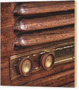 1948 Mantola Radio Wood Print