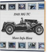 1948 Mg Tc Wood Print