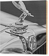 1948 Mg Tc - The Midge Hood Ornament Wood Print