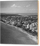 1948 Miami Beach Florida Wood Print