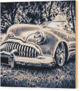 1949 Buick Eight Super Wood Print by motography aka Phil Clark