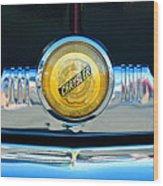 1949 Chrysler Windsor Grille Emblem Wood Print