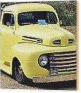 1949 Ford Pickup Wood Print