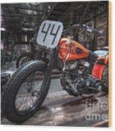 1949 Harley Davidson Wood Print