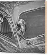 1949 Mercury Club Coupe Bw   Wood Print