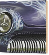 1949 Mercury Eight Hot Rod Wood Print
