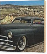 1949 Plymouth Low Rider Wood Print
