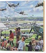 1950 Airshow Wood Print