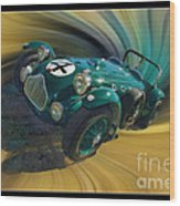 1950 Allard J-2 Lemans Car Wood Print