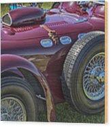 1950 Allard J2 Competition Roadster Wood Print