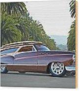 1950 Buick Woody Wagon Vi Wood Print